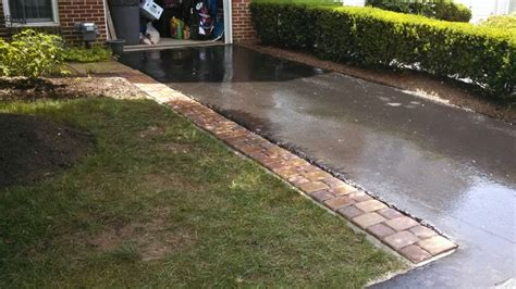 do i need planning permission for a concrete sectional garage decorative paver driveway extension using concrete base