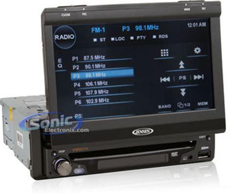 jensen vm  dash touchscreen monitor dvd player
