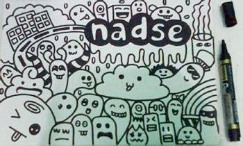 buat doodle mudah gambar doodle keren