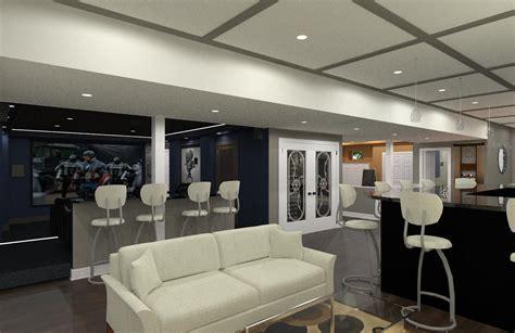 Luxury Basement Designs in Somerset County, NJ   Design