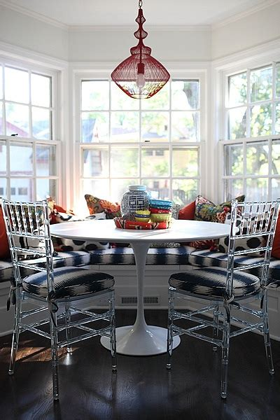 Table For Bay Window In Kitchen Breakfast Nook Bay Window Design Ideas