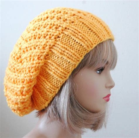 knitting pattern slouchy hat slouch hats tag hats