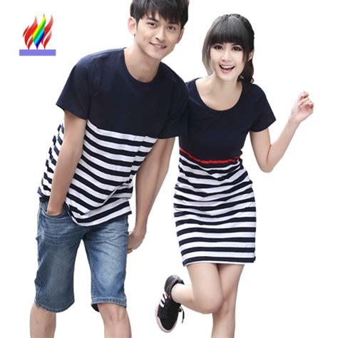 The Couples Clothing Korean Couples Clothes Honeymoon Wear Summer