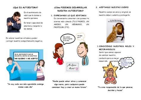 como superar la baja autoestima avanza por mas folleto autoestima 2013