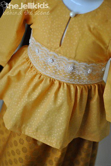 pattern jubah songket the jellikids peplum kurung songket beaut in gold sold