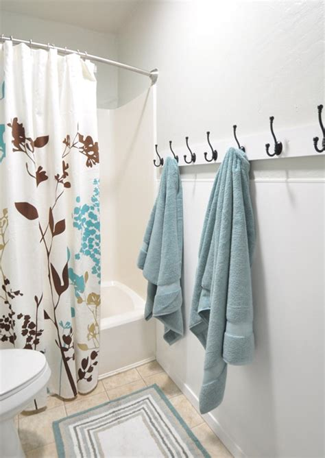 bathroom towel hooks ideas alma project bathroom remodel centsational