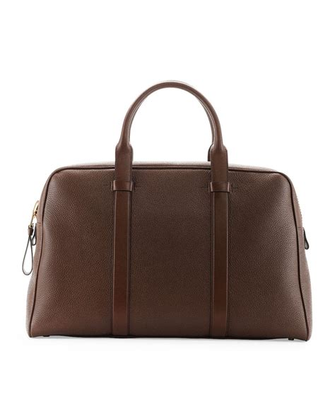 Tom Ford Bag by Tom Ford Buckley S Zip Small Duffel Bag In Brown Lyst