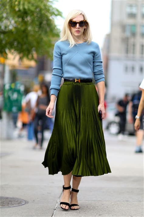 what are the newest styles for spring 2015 for women best street style at new york fashion week spring 2016