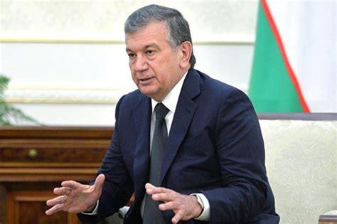 Uzbek Parliament Appoints Pm Mirziyoyev As Interim President | shavkat mirziyoyev became interim president of uzbekistan