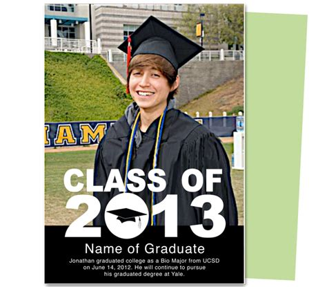 Celebrationsoflifestore Com Supplier Of Printable Quality Templates Launches New Printable Grad Announcement Template