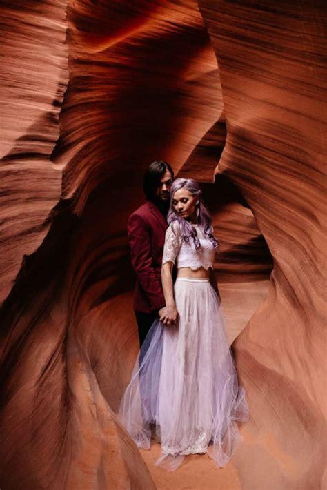 Spotlights For Home Decor alternative antelope canyon elopement junebug weddings