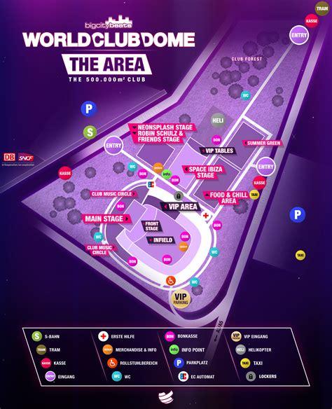 aktuelle informationen zum bigcitybeats world club dome