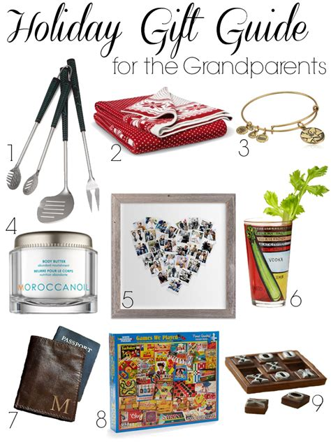 holiday gift guide for the grandparents a life from