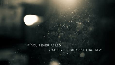 motivational fail message hd wallpaper