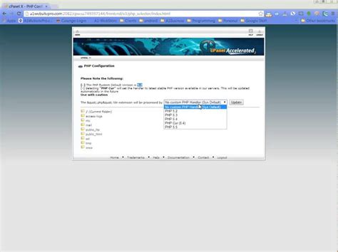 php tutorial quick how to update php version in cpanel quick and easy