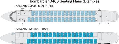 dash 8 400 seating bombardier q400 seating plan flyradius
