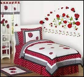 Ladybug Bedroom Ideas flower decor for girls garden theme bedrooms ladybug bedroom ideas