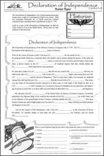 declaration of independence poster paper 031921 details