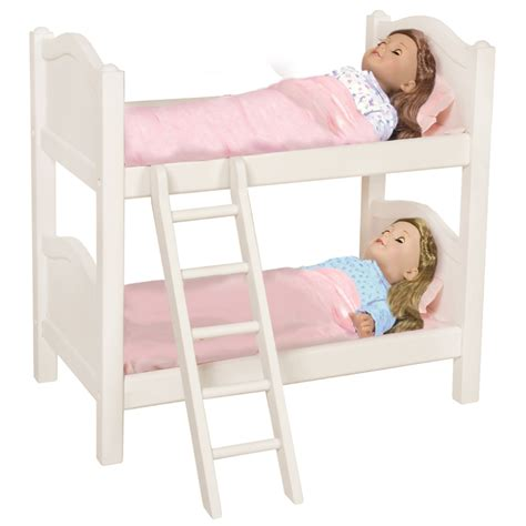 Doll Bunk Bed White Rosenberryrooms Com Bunk Bed Doll