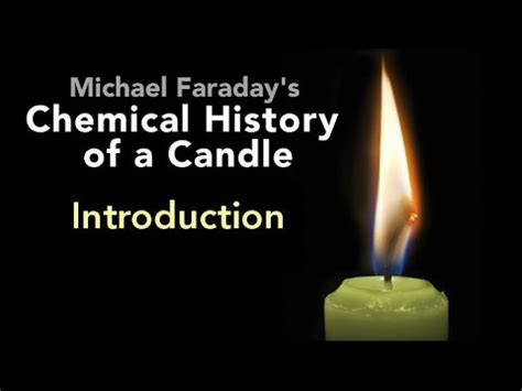 the chemical history of a candle books introduction the chemical history of a candle by michael