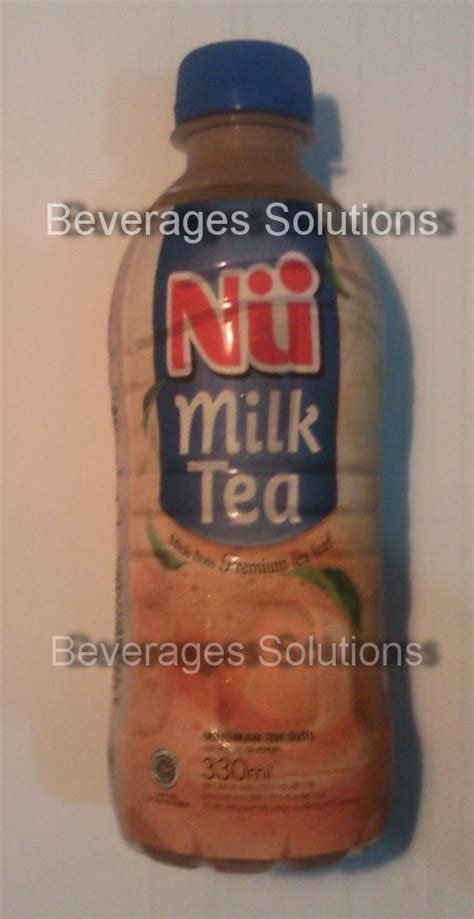 nu milk tea 330ml minuman teh beverages solutions nu milk tea varian baru nu tea