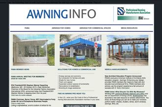 professional awning manufacturers association internet ghost towns awnings starships and japanese