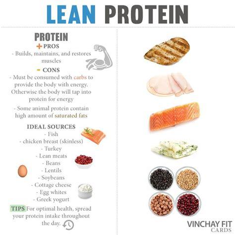 lean protein foods list protein foods