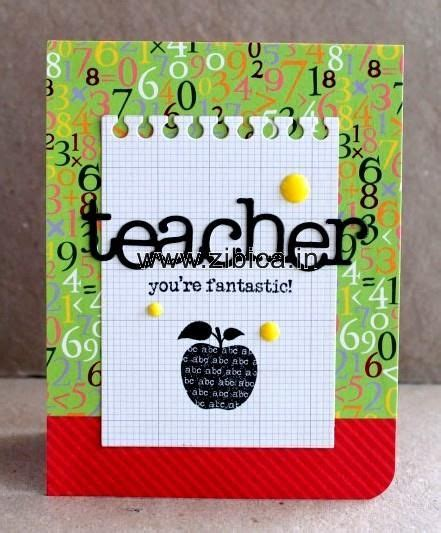 Teachers Day Handmade Greeting Cards - teachers day greeting cards handmade 25 unique handmade