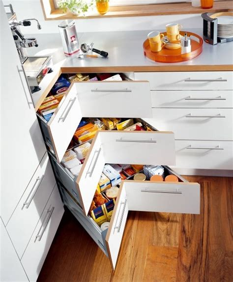 kitchen corner storage ideas clever kitchen storage solutions