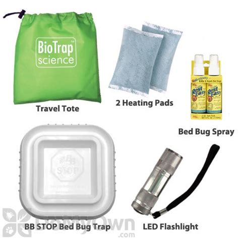 bed bug detection kit bed bug travel kit