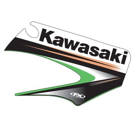 Kawasaki Oem by 2003 Kawasaki Oem Graphic Kx85 100 01 11