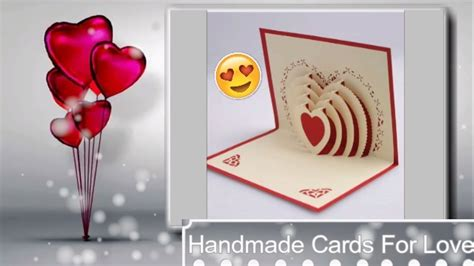 How To Make Handmade Greeting Cards For Boyfriend - how to make handmade birthday cards for lover step by step