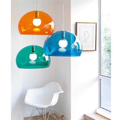 Kartell Fly Ceiling Light Kartell Fly Roof Ceiling Light L Shade For Bedroom Living Room Petrol Blue Ebay
