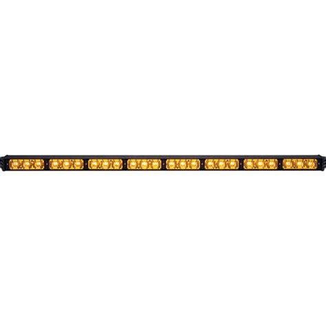 whelen traffic advisor light bar whelen traffic advisor tac8 super led light bar amber