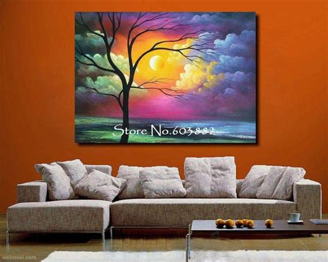 wall paiting 35 stunning and beautiful tree paintings for your inspiration
