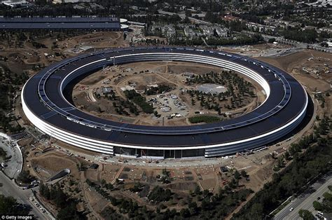 new apple headquarters apple s new california spaceship cus shown in photos