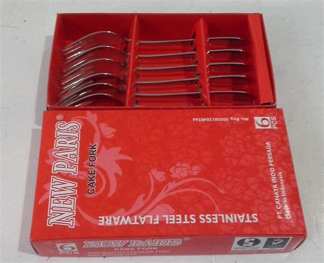 Garpu Kue Garpu Kecil Stainless Tebal selatan jaya distributor barang plastik furnitur surabaya