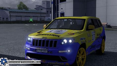 jeep rally car jeep grand rally car simulator mods