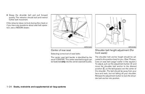 old car manuals online 2003 nissan sentra on board diagnostic system 2003 sentra owner s manual