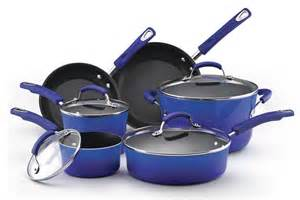 colorful cookware rachael 10 cookware set review