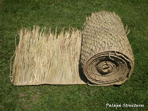 Tiki Hut Material by 4x20 Foot Mexican Palm Thatch Palapa Tiki Hut Roofing