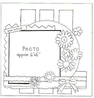 scrapbook layout sketches pinterest nice and busy scrapbooking layouts pinterest