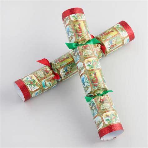 10 quot vintage christmas crackers 8 count world market