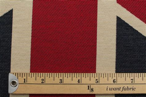 union jack fabric upholstery union jack flag retro heavy linen look upholstery cotton