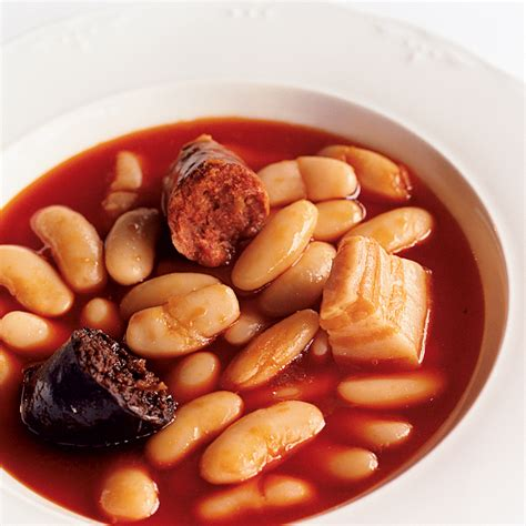 Asturian Pork and Beans Recipe   José Andrés   Food & Wine