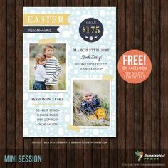 4 Fall Mini Session Templates Photography Marketing Board Photoshop Template Set Instant Mini Session Templates For Lightroom