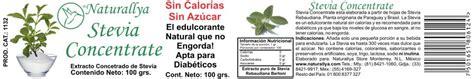 Stevia Liquid 35ml stevia concentrate 100 grs 1132 420 00 mxn