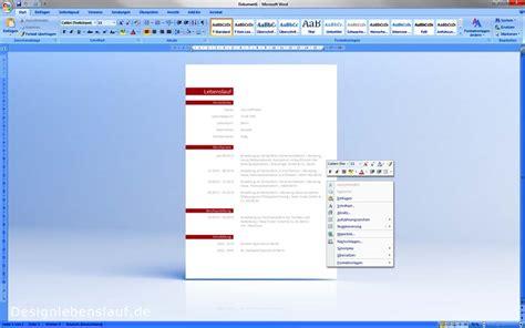Lebenslauf Layout Word Lebenslauf Layout Als Bewerbungsvorlage Mit Anschreiben
