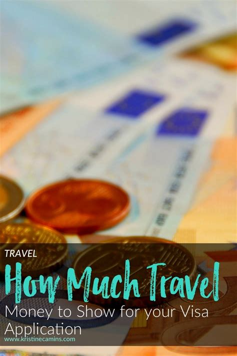 Find Out How Much Is On My Visa Gift Card - how much travel money to show for your visa application
