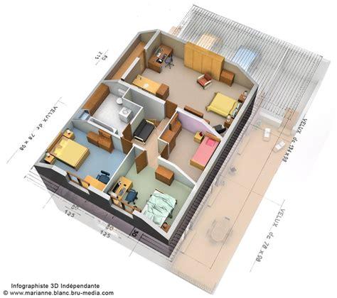 Moderne Garagen 2664 by Plan 3d Maison Etage By Meryana On Deviantart